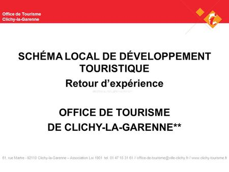 Office de Tourisme Clichy-la-Garenne