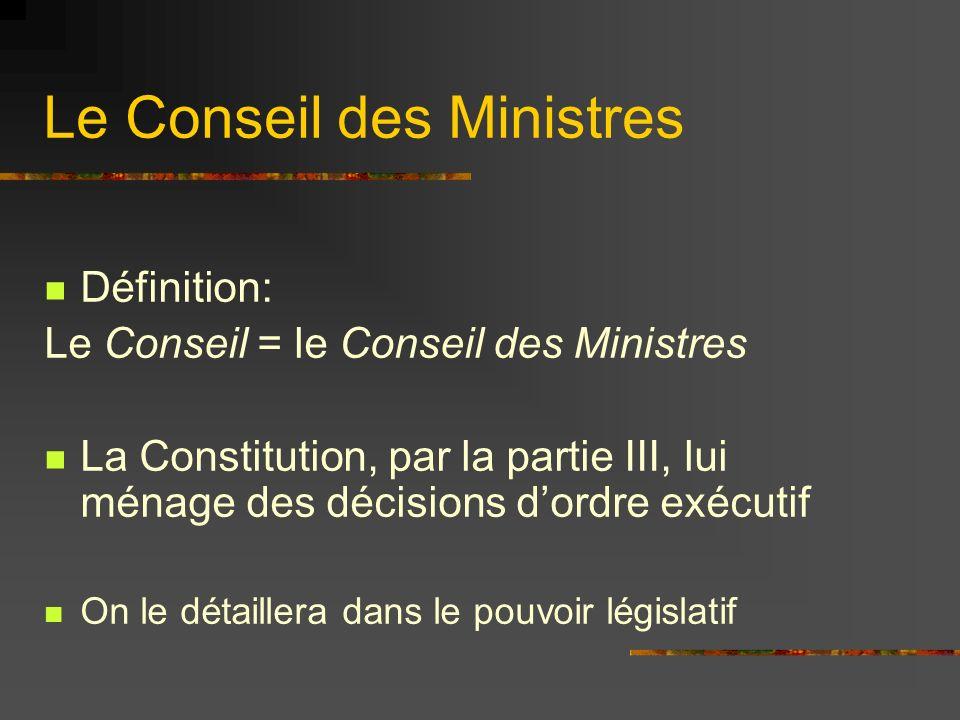 Les Gouvernements nationaux .
