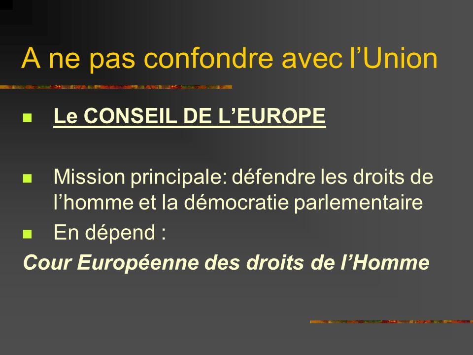 Conseil de lEurope En bleu foncé les 46 États-membres