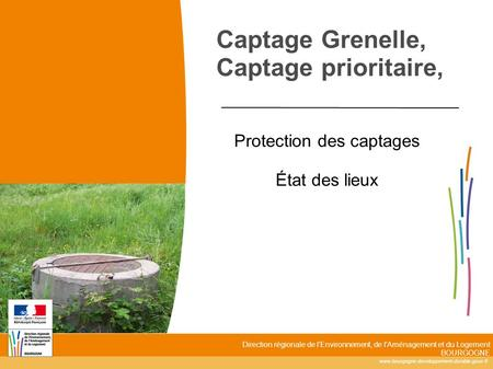 Captage Grenelle, Captage prioritaire,