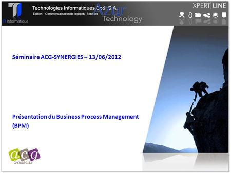 Présentation du Business Process Management (BPM)