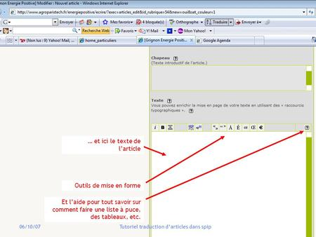 Tutoriel traduction d'articles dans spip