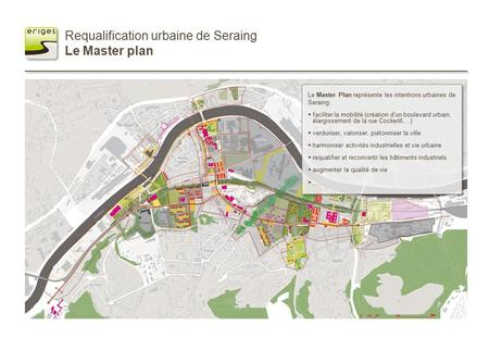 Requalification urbaine de Seraing Le Master plan