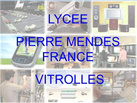 LYCEE PIERRE MENDES FRANCE VITROLLES.