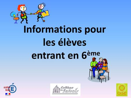 Le collège comporte 442 élèves : 103 en 6 èmes (4 classes) 110 en 5 èmes (4 classes) 112 en 4 èmes (4 classes) 117 en 3 èmes (4 classes)