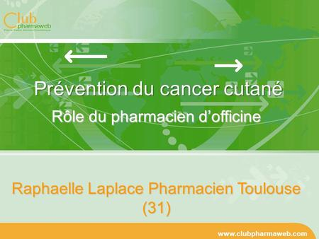 Prévention du cancer cutané