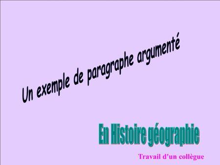 methode de la dissertation française