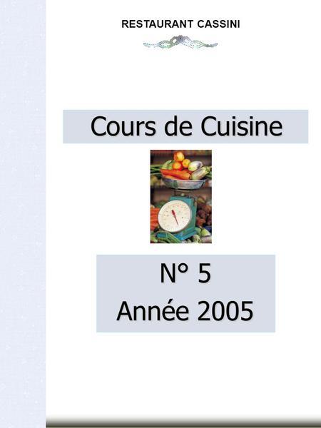 Cours de cuisine bases sauces annee 2003 restaurant - Cours de cuisine guy martin ...