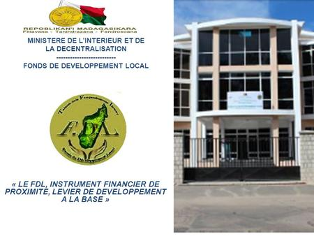 FONDS DE DEVELOPPEMENT LOCAL