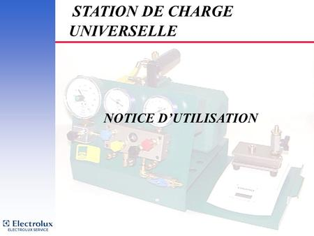 STATION DE CHARGE UNIVERSELLE