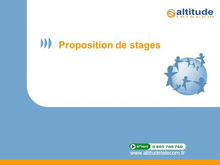 Proposition de stages.
