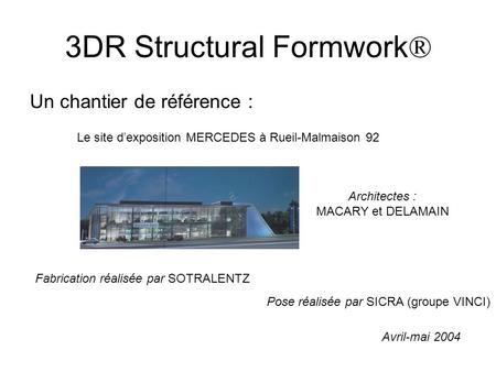 3DR Structural Formwork®