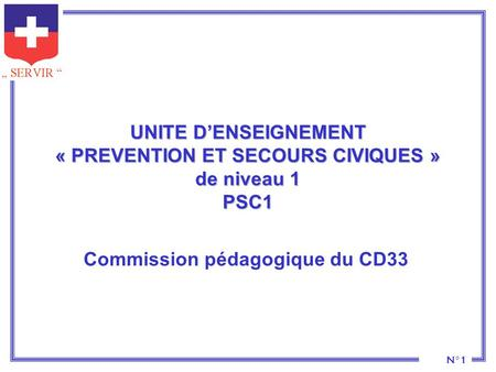 Commission pédagogique du CD33