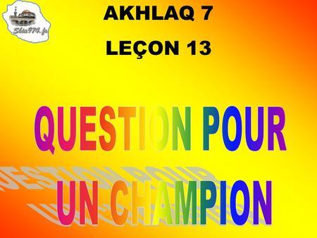 Questions pour un champion ppt t l charger for Decor question pour un champion