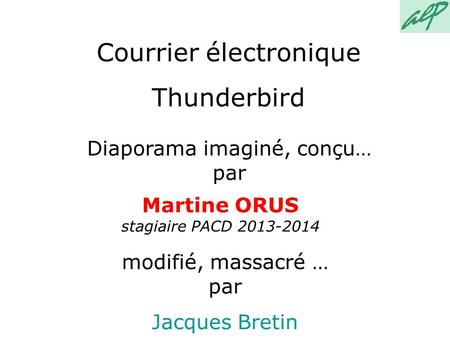 Courrier électronique Thunderbird