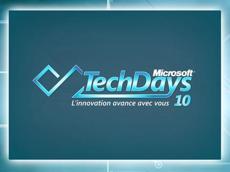 22 Visual Studio Tools et Office 2010 Thomas LEBRUN Architecte Access It Sebastien BOVO Application Dev Consultant Microsoft France