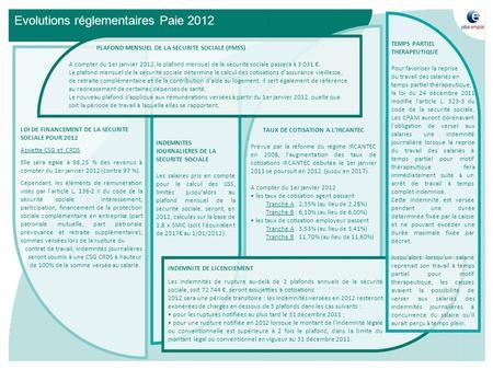 La remuneration chez carrefour ppt t l charger - Plafond securite sociale 2008 ...