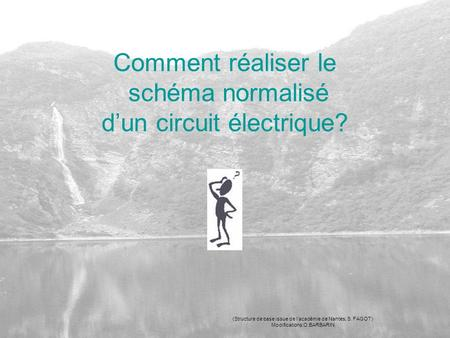 Comment réaliser le schéma normalisé d'un circuit électrique? (Structure de base issue de l'académie de Nantes, S. FAGOT) Modifications:O.BARBARIN.