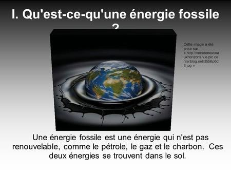 Source r alisation personnelle source ppt t l charger - Qu est ce qu une energie renouvelable ...