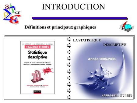 COURS STATISTIQUE - DESCRIPTIVE DEFINITIONS