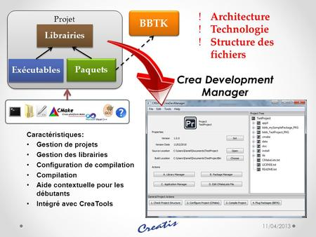 Crea Development Manager
