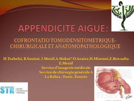 COFRONTATIO TOMODENSITOMETRIQUE-CHIRURGICALE ET ANATOMOPATHOLOGIQUE