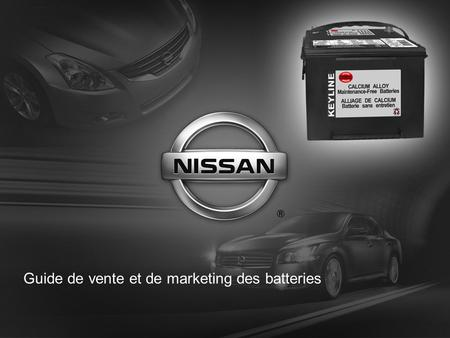 Guide de vente et de marketing des batteries