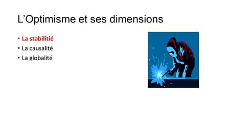 L'Optimisme et ses dimensions