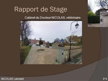 Mahieux julie 3 2 rapport de stage en entreprise ppt - Rapport de stage 3eme cabinet medical ...