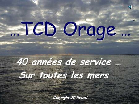 … TCD Orage … 1967 … construction à Brest … 1967 … 3 avril …