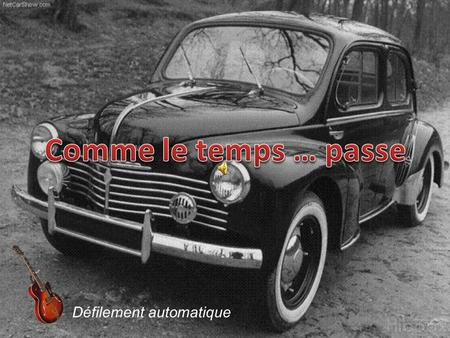 Défilement automatique SIMCA ARONDE 9 2 CV Citroen.