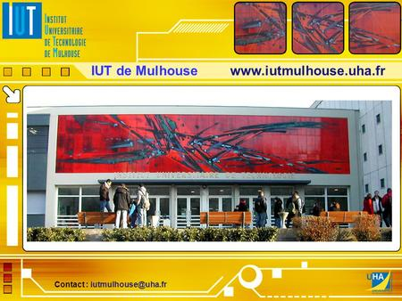 IUT de Mulhouse  Contact :