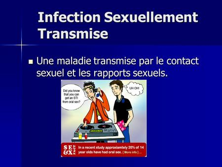 Infection Sexuellement Transmise