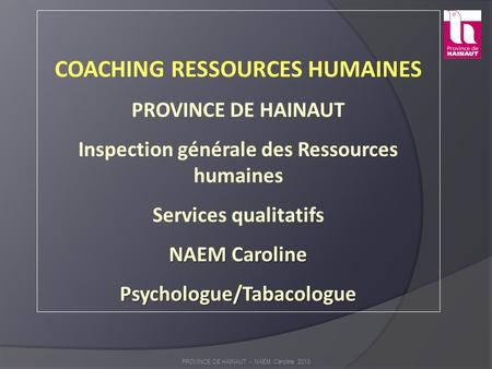 COACHING RESSOURCES HUMAINES