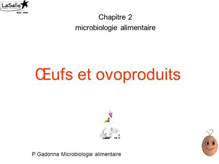 Microbiologie alimentaire ppt