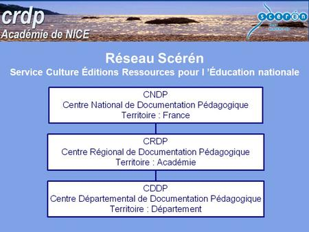 Service Culture Éditions Ressources pour l 'Éducation nationale