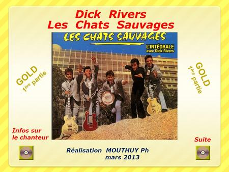 Dick Rivers Les Chats Sauvages