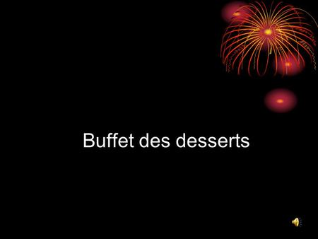 Buffet des desserts. Brownies Biscuit au chocolat.