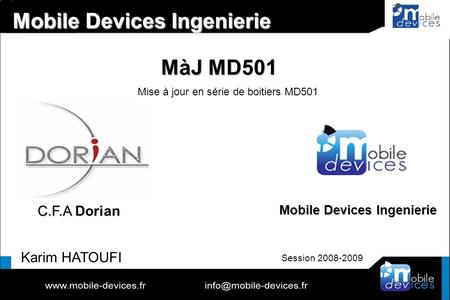 Mobile Devices Ingenierie