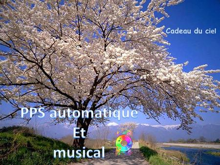 PPS automatique Et musical