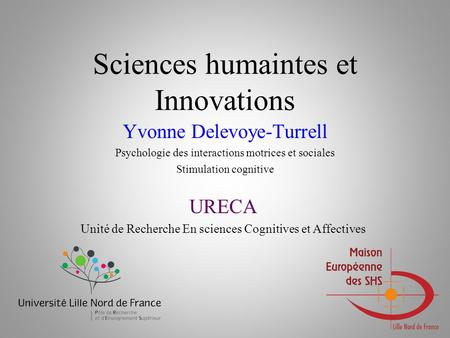 Sciences humaintes et Innovations