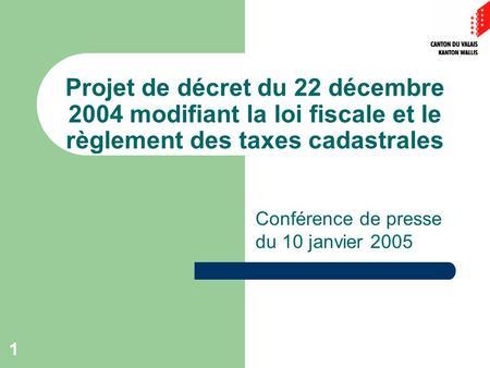 decret du 21 decembre 2004