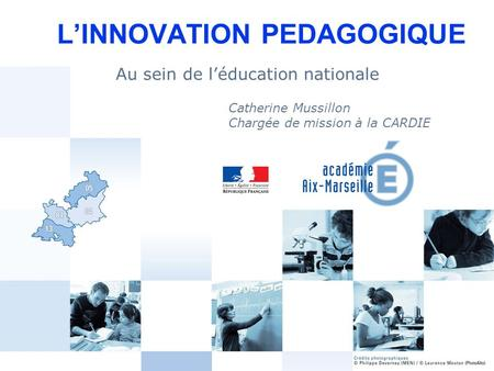 L'INNOVATION PEDAGOGIQUE