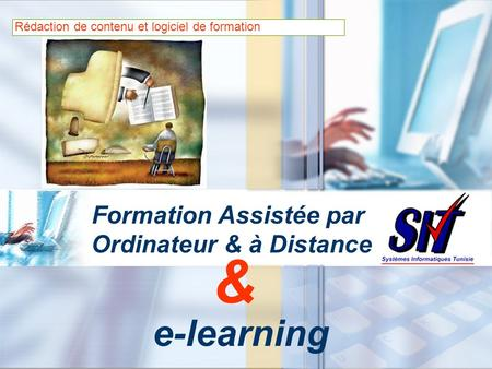 Formation Assistée par Ordinateur & à Distance