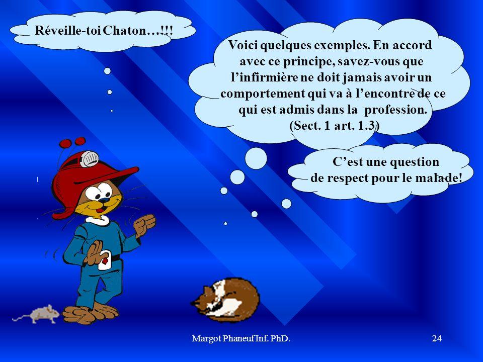 Margot Phaneuf Inf.PhD.25 Est-ce que je suis respectueuse.