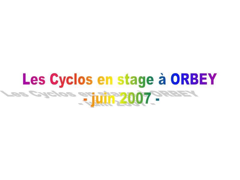 C est une chaleureuse région aux paysages exceptionnels, qu ont sillonné vingt-deux cyclos Pontrambertois et leurs quatre accompagnateurs au cours d un stage du 18 au 23 juin 2007.