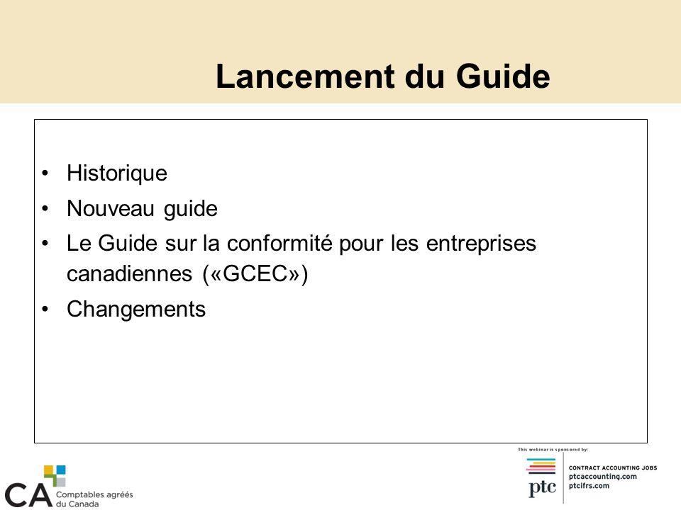Intégration des produits Groupe de produits du GCEC Modèles Listes de contrôle Tax Practice Manual Liens entre les produits Comment accéder à linformation