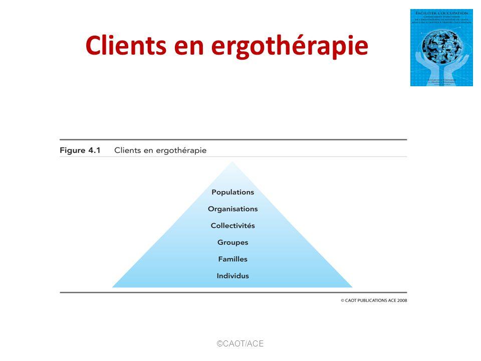 Concepts de base de lhabilitation ©CAOT/ACE