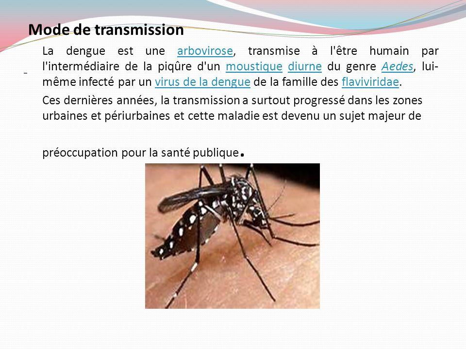 Les différents signes Les signes apparaissent de cinq à huit jours après la piqûre de moustique infestante.
