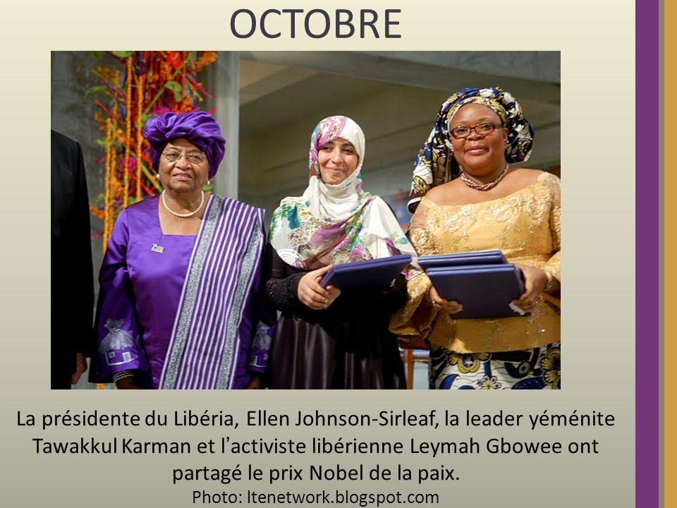 OCTOBRE: Le guide libyen Mouammar Kadhafi est tué.